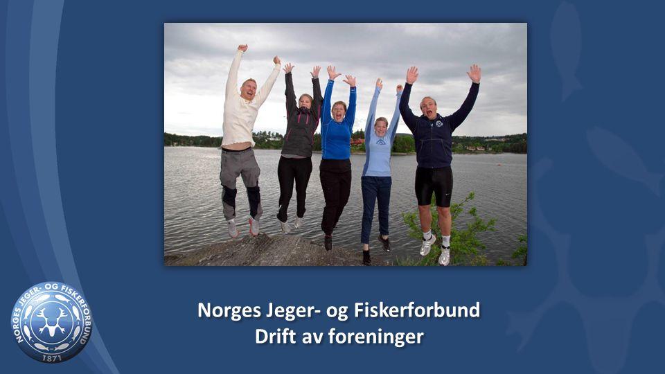 Norges Jeger- og Fiskerforbund Drift av foreninger