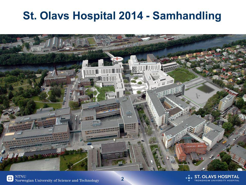 2 St. Olavs Hospital 2014 - Samhandling