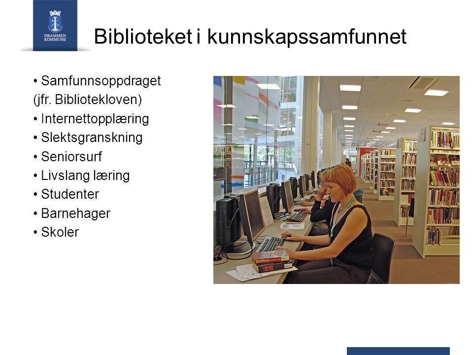 Biblioteket i kunnskapssamfunnet Samfunnsoppdraget (jfr.