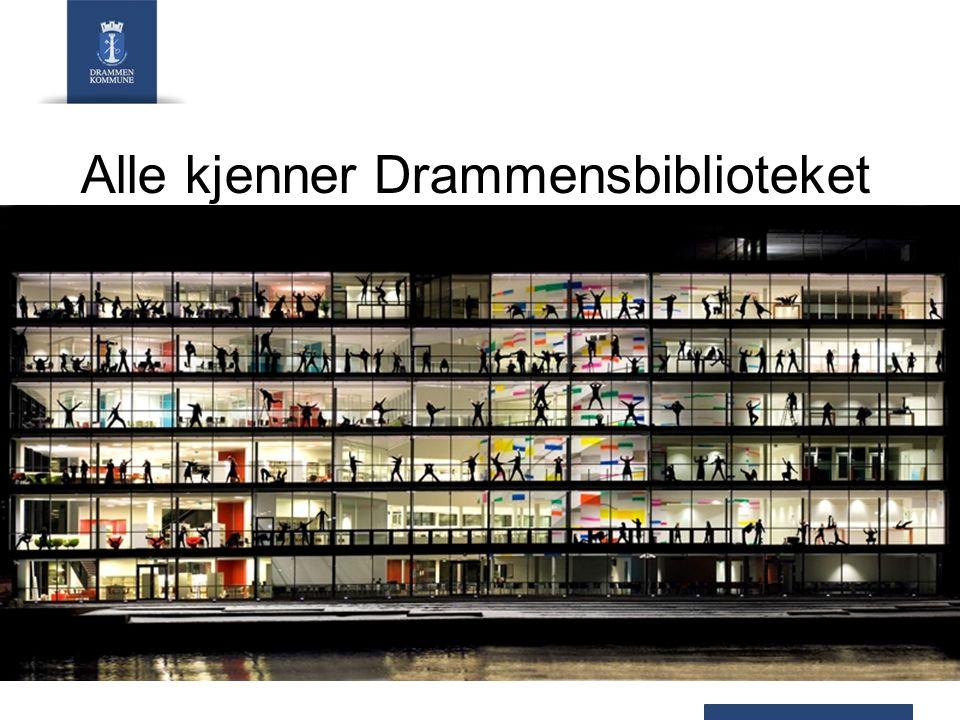 Alle kjenner Drammensbiblioteket