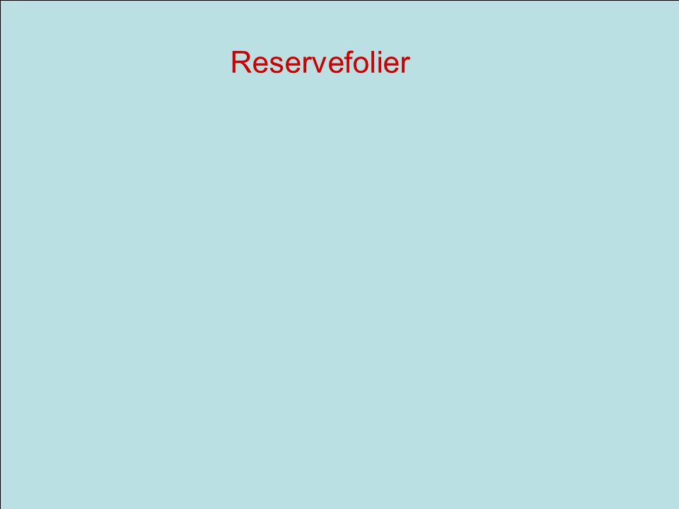 Reservefolier