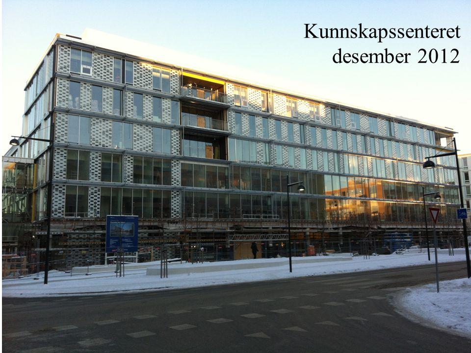 Kunnskapssenteret desember 2012