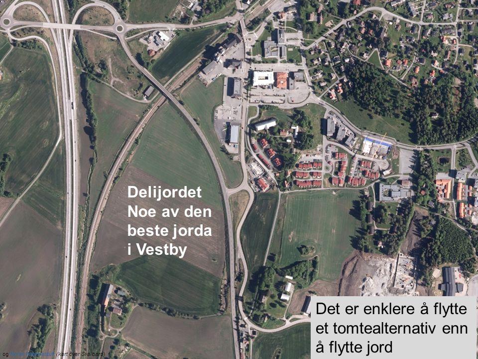 Delijordet Noe av den beste jorda i Vestby Det er enklere å flytte et tomtealternativ enn å flytte jord