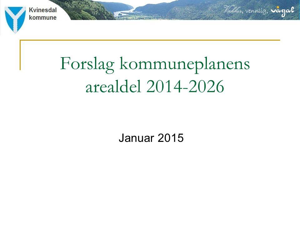 Forslag kommuneplanens arealdel 2014-2026 Januar 2015