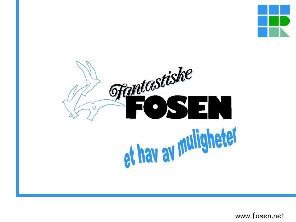 www.fosen.net Faggruppene vil være en svært viktig ressurs i videreutvikling av eksisterende samarbeidsområder og i utredning av nye områder.