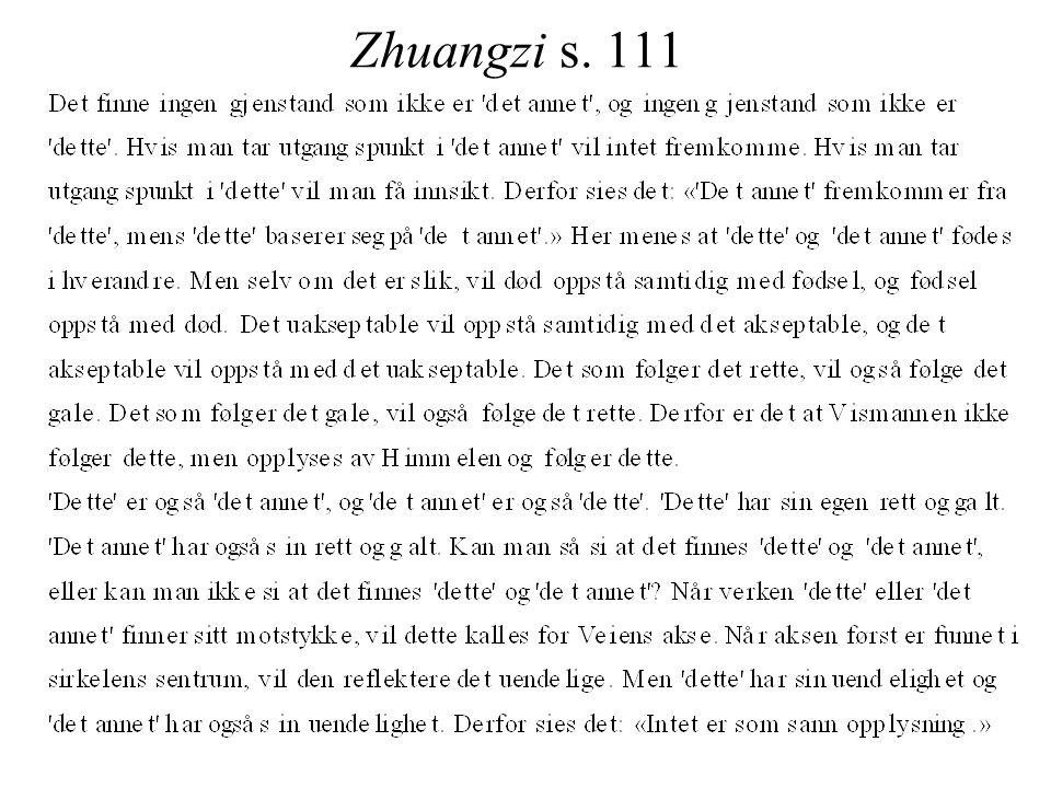 Zhuangzi s. 111