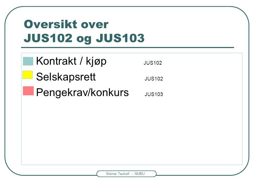 Steinar Taubøll - JUS102 UMB Representasjon eller fullmakt.