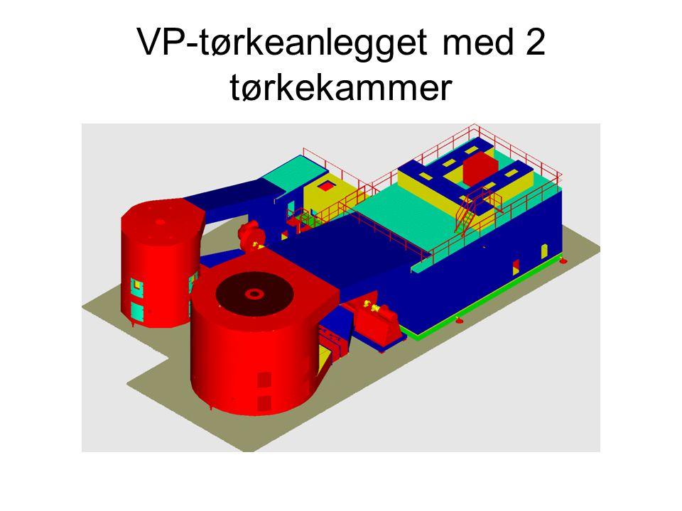 VP-tørkeanlegget med 2 tørkekammer