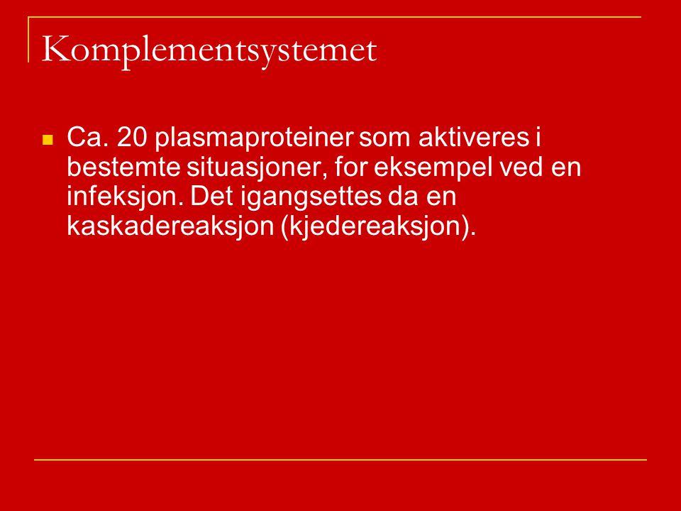 Komplementsystemet Ca.