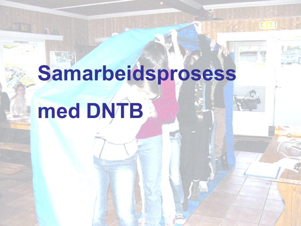 Samarbeidsprosess med DNTB