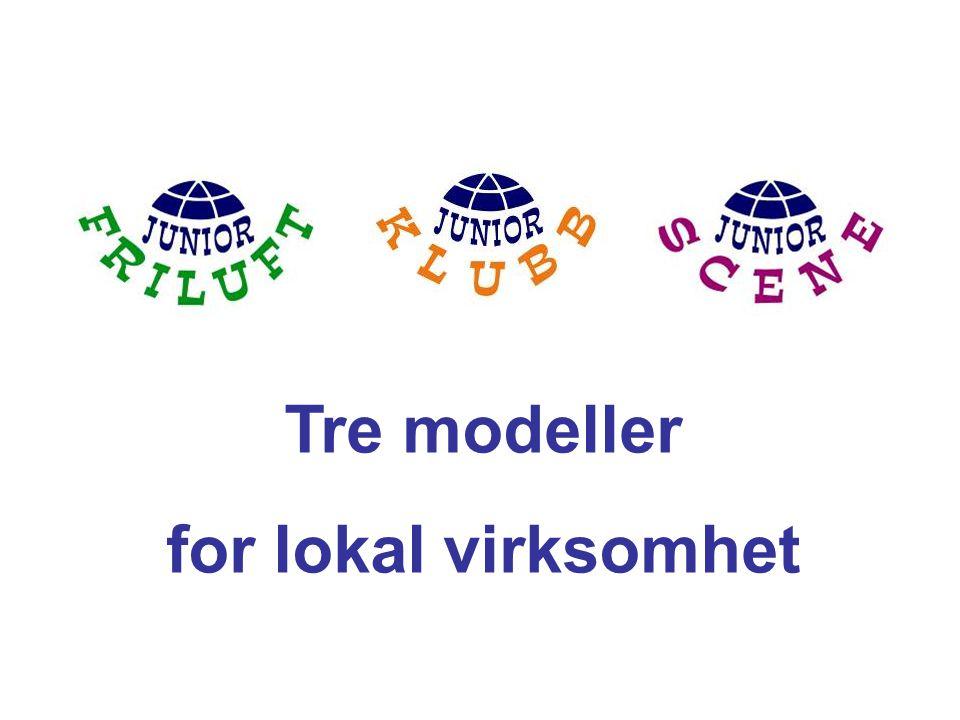 Tre modeller for lokal virksomhet