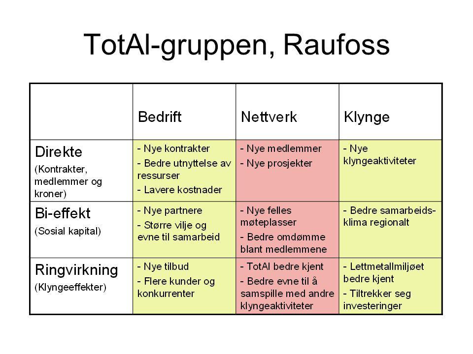 TotAl-gruppen, Raufoss