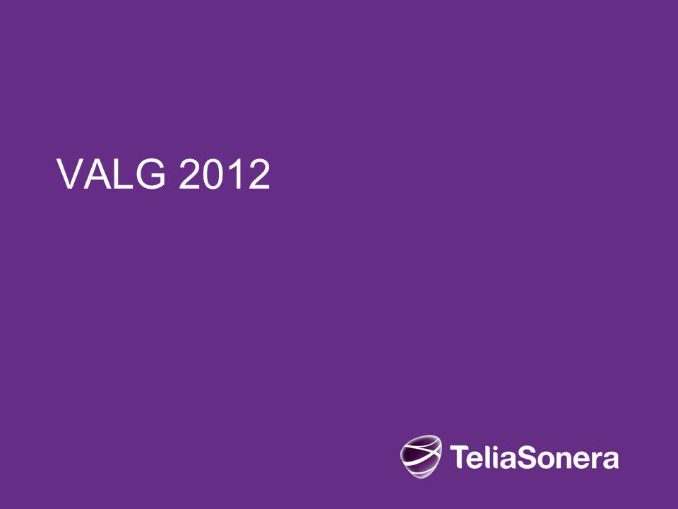 Hovedpunkter Introduksjon av Valgkomitéen Valg 2012 til 2014: –Styret –Hovedverneombud og verneombud –Arbeidsmiljøutvalg (AMU) Nominasjonsprosessen Valguke 2