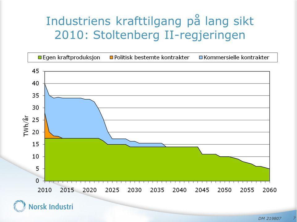 Industribygging medførte Verdiskaping (….
