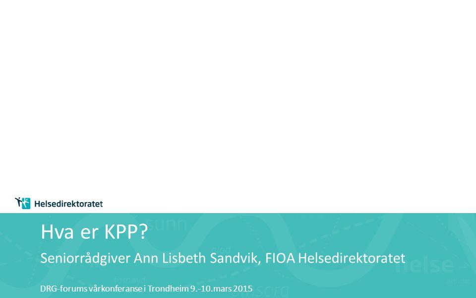 Hva er KPP.