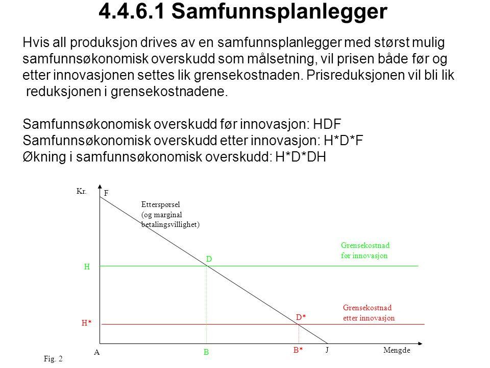 4.4.6.1 Samfunnsplanlegger AB D* D F H JMengde Kr.