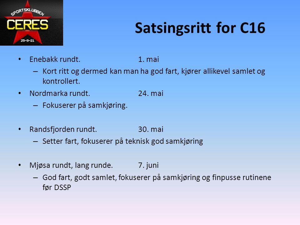 Satsingsritt for C16 Enebakk rundt.1.