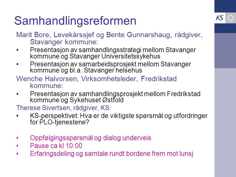 Årsverk leger pr 1000 plasser i institusjon. 2007-2009 54 Stavanger: fra 10,8 til 14,6