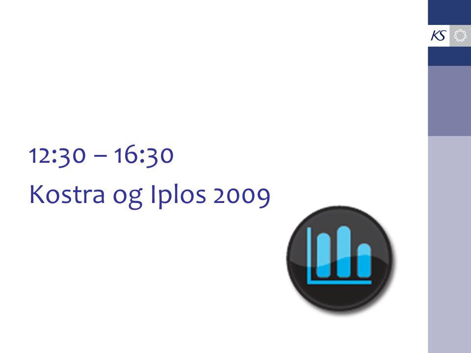 12:30 – 16:30 Kostra og Iplos 2009