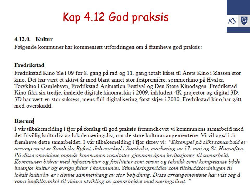 KS Utko Kap 4.12 God praksis