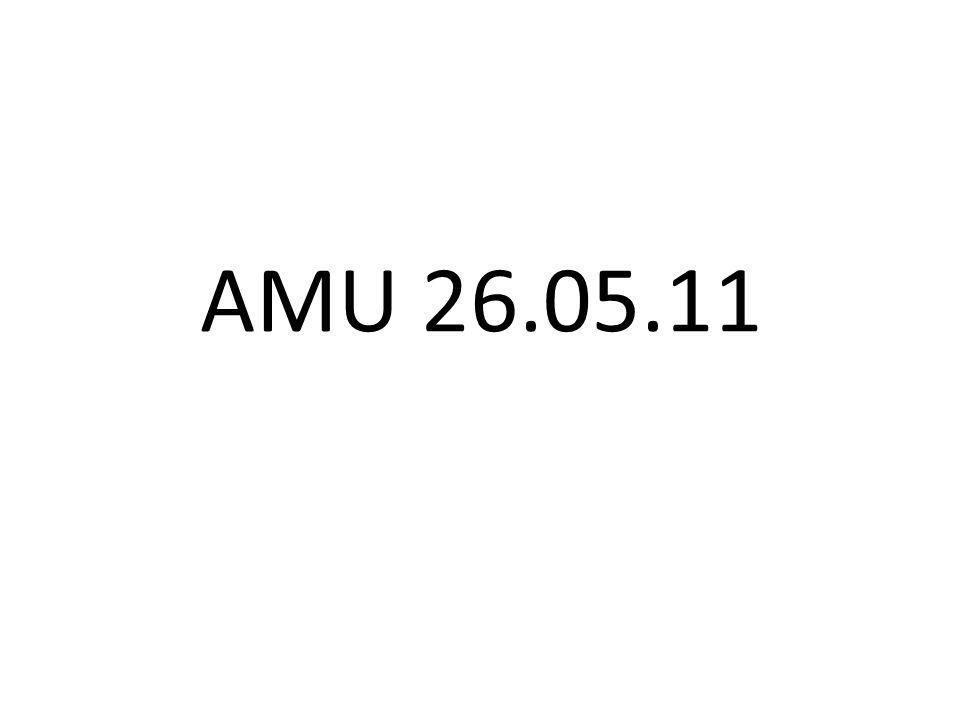 AMU 26.05.11