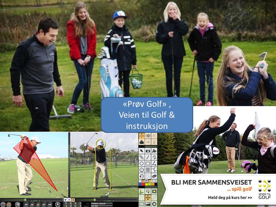 «Prøv Golf», Veien til Golf & instruksjon
