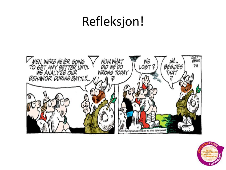 Refleksjon!
