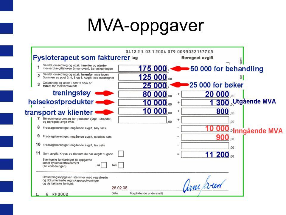MVA-oppgaver