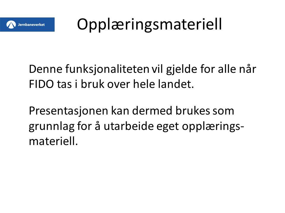 2.5 Personlige kvitteringer Det er 2 kunngjøringer på Vikersund stasjon med forskjellig kvitteringsstatus