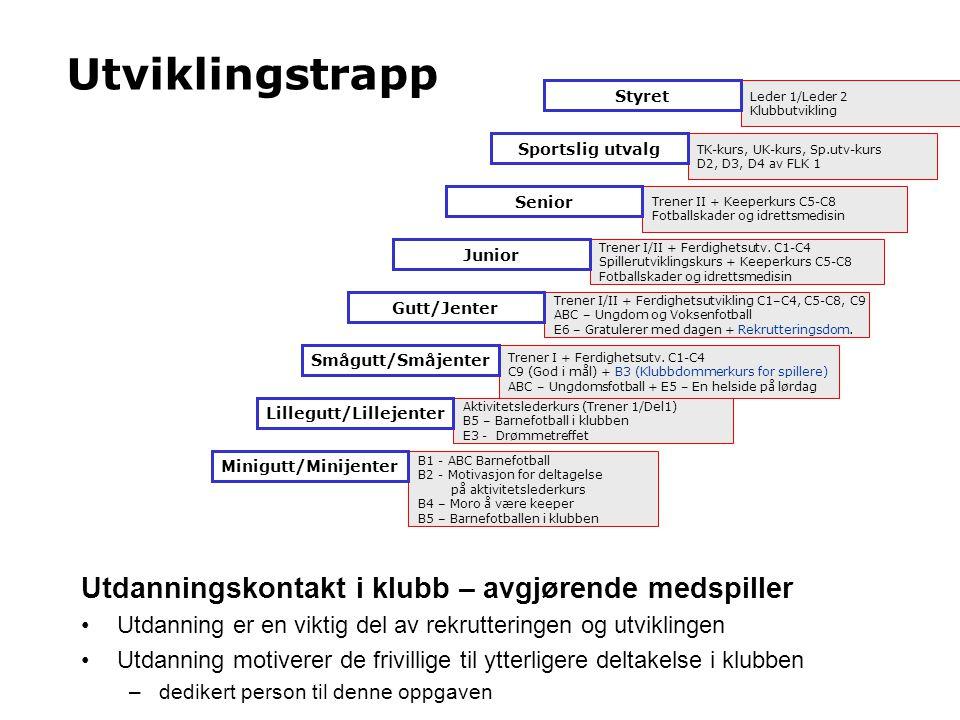 GAP-analyse Kartlegging av kompetanse på alle nivåer.