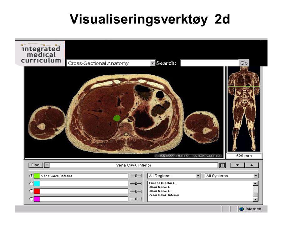 Visualiseringsverktøy 2d