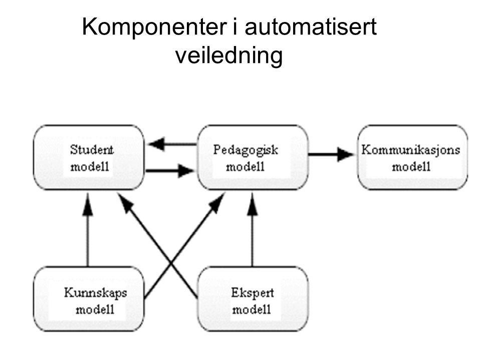 Komponenter i automatisert veiledning
