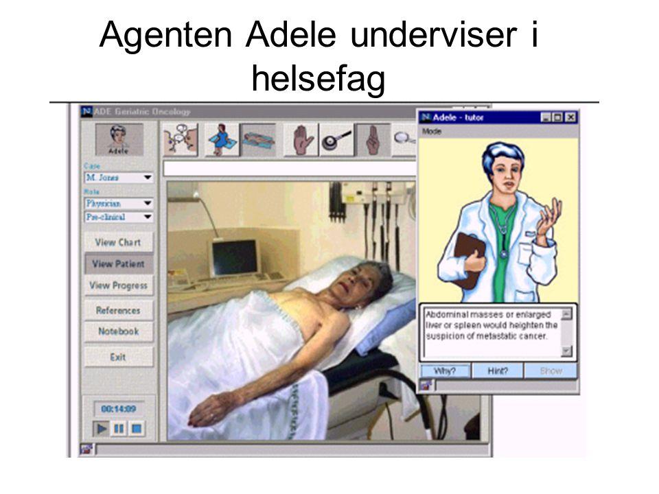 Agenten Adele underviser i helsefag