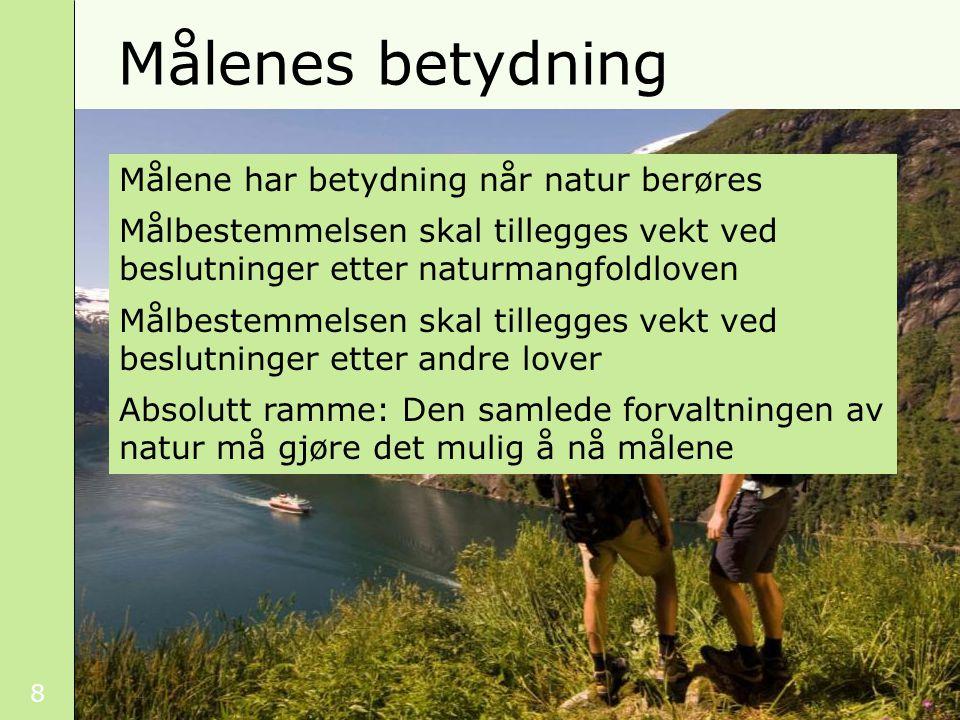 49 Lokalt ønske om nasjonalpark Foto: Bjørn Larsen Organisasjonenes rolle