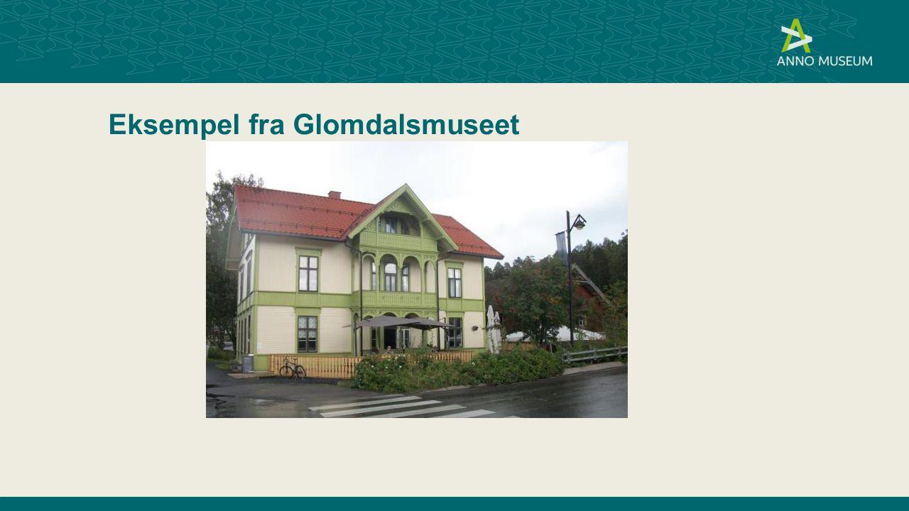 Eksempel fra Glomdalsmuseet