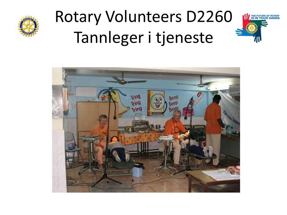 Rotary Volunteers D2260 Tannleger i tjeneste