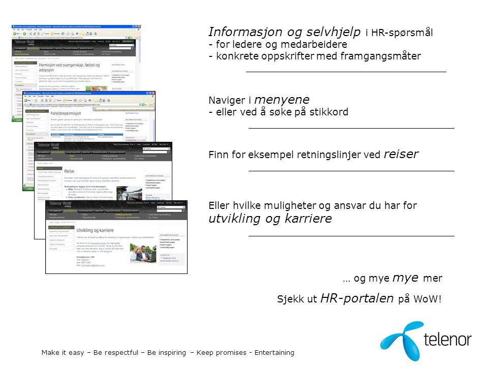 Informasjon og selvhjelp i HR-spørsmål - for ledere og medarbeidere - konkrete oppskrifter med framgangsmåter _________________________________ Navige