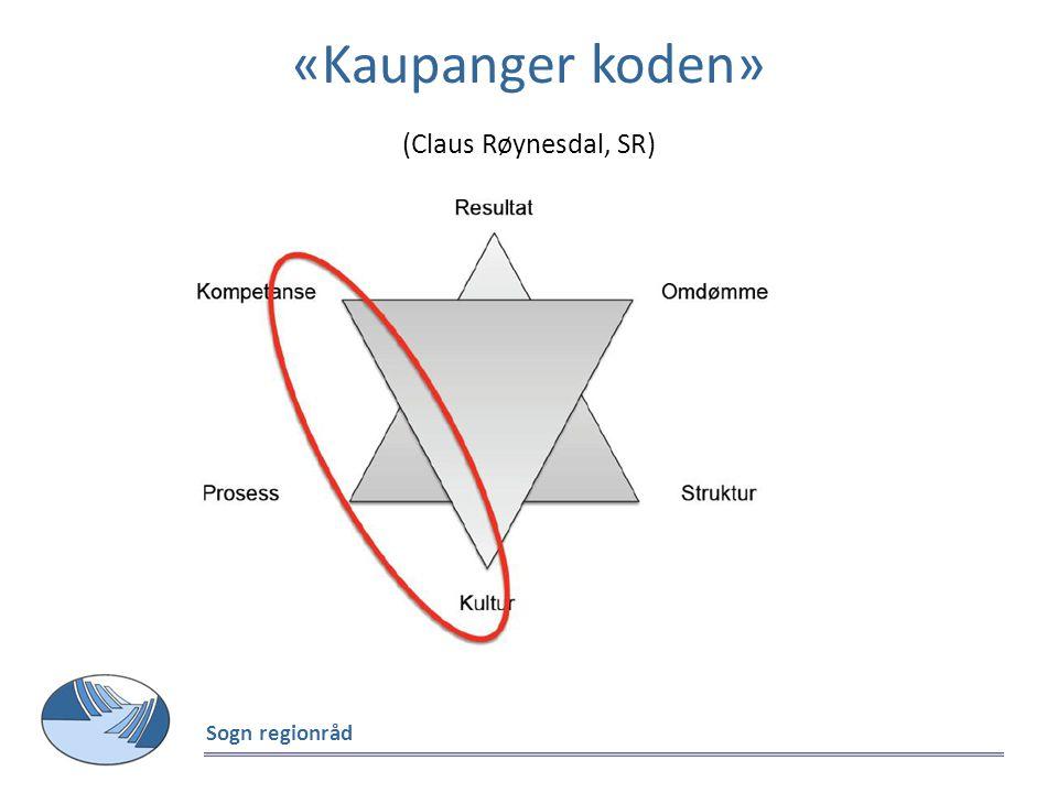 «Kaupanger koden» (Claus Røynesdal, SR) Sogn regionråd