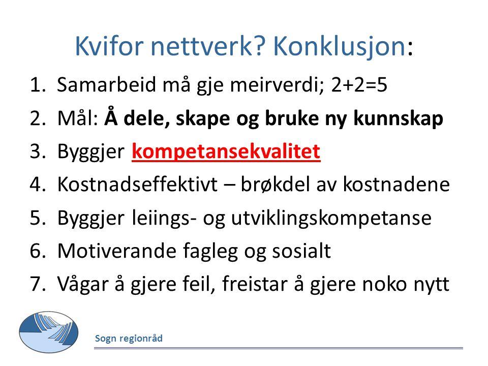 Dr. polit Trond Buland/ NTNU: Forsking på skulesatsinga og fagnettverka i Sogn Sogn regionråd