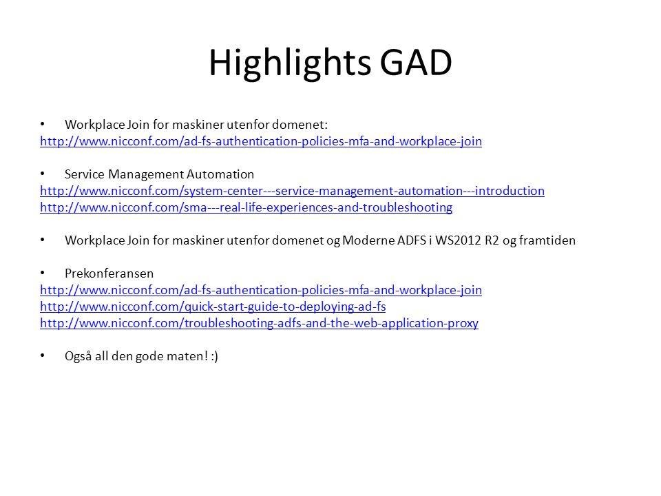 Highlights GID My Favorite Configuration Manager 2012 Features - Part I Client Health – Mulighet til å finne «Active» «Inactive» sccm klienter.