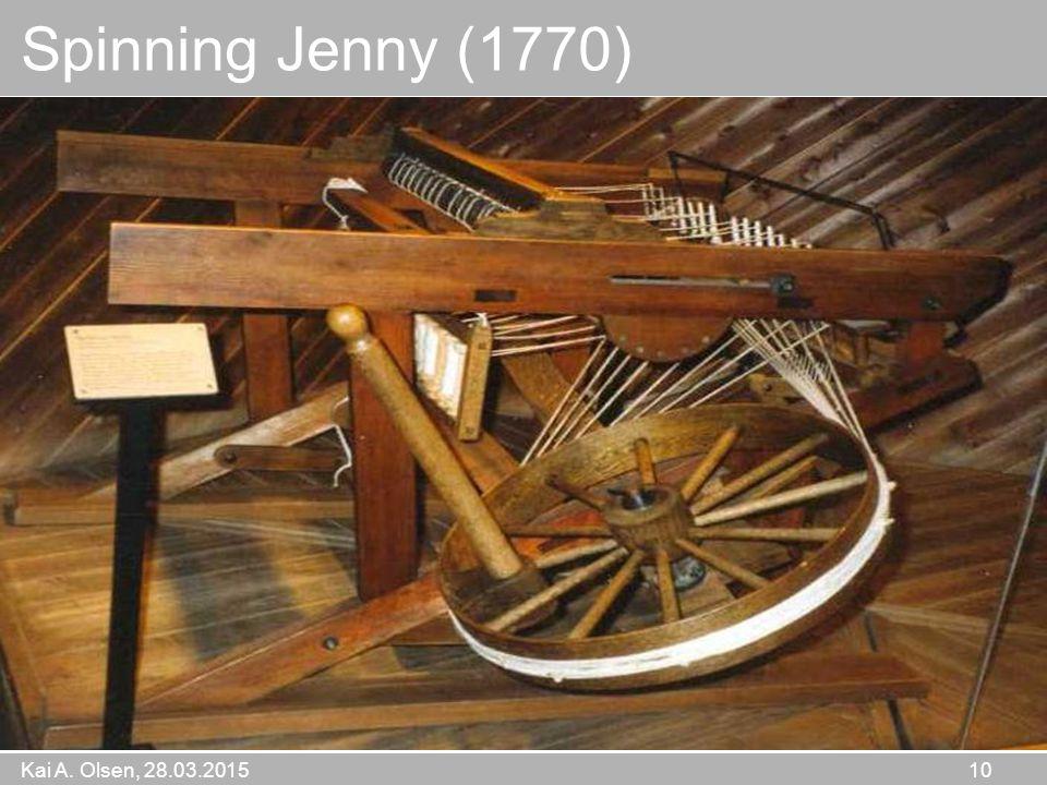Kai A. Olsen, 28.03.2015 10 Spinning Jenny (1770)