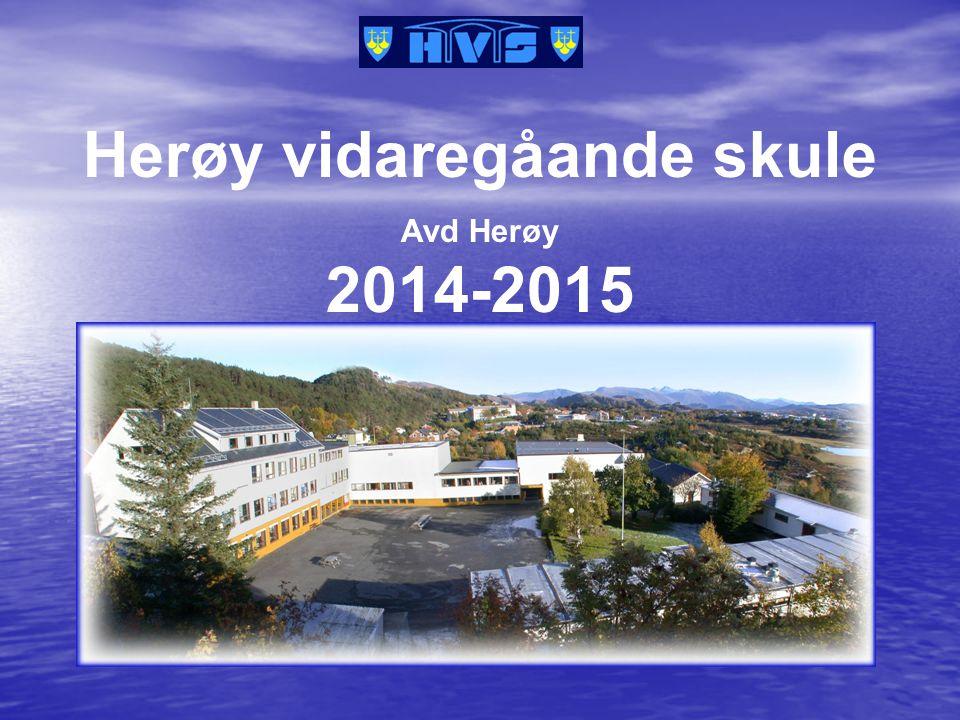 Herøy vidaregåande skule Avd Herøy 2014-2015