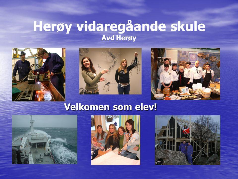 Herøy vidaregåande skule Avd Herøy Velkomen som elev!