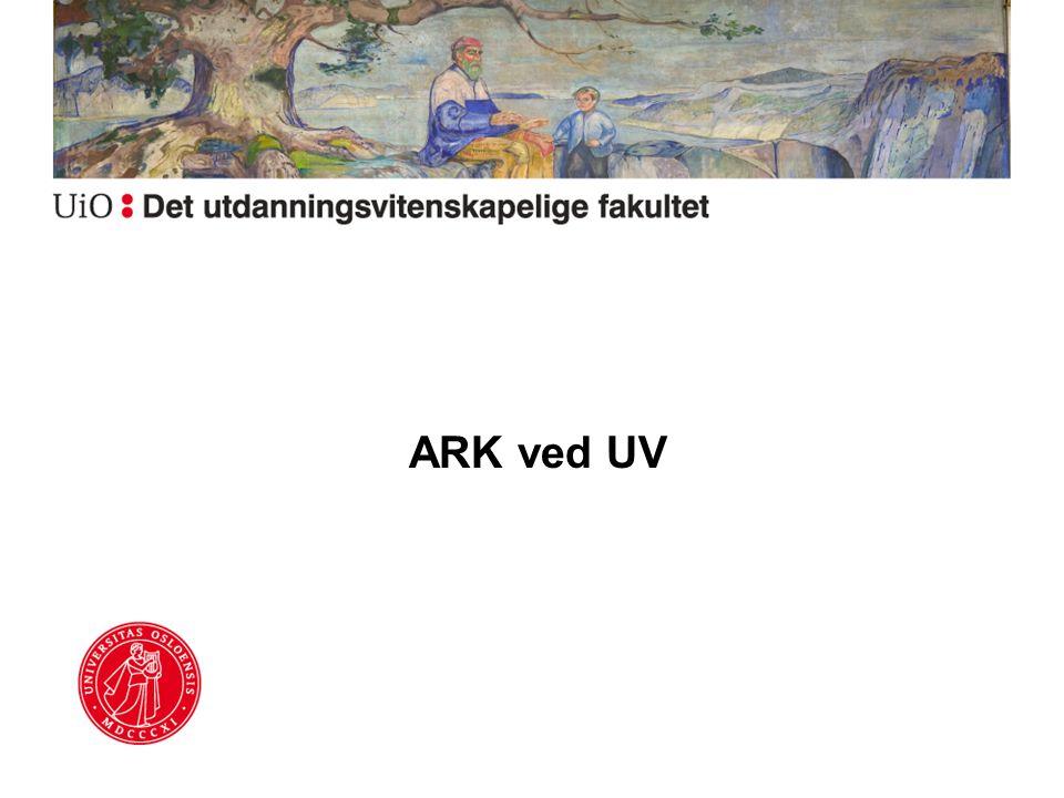 ARK ved UV