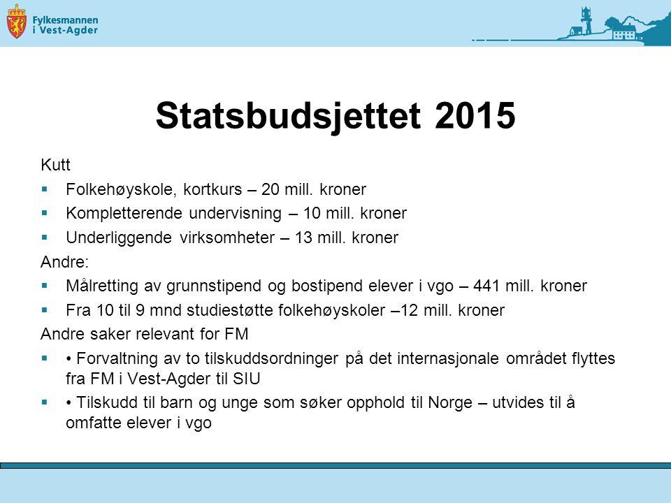 Aktuelt fra utdanningsdirektørmøte i okober  Ny friskolelov (høringsfrist 15.