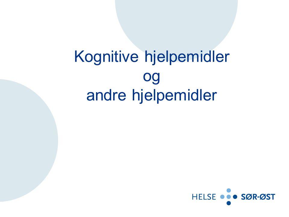 Forskjellige hjelpemidler Hjelpemilder for stillings- variasjon Bryterstyring og omgivelses- kontroll Sanse- hjelpemidler Forflytnings- hjelpemidler