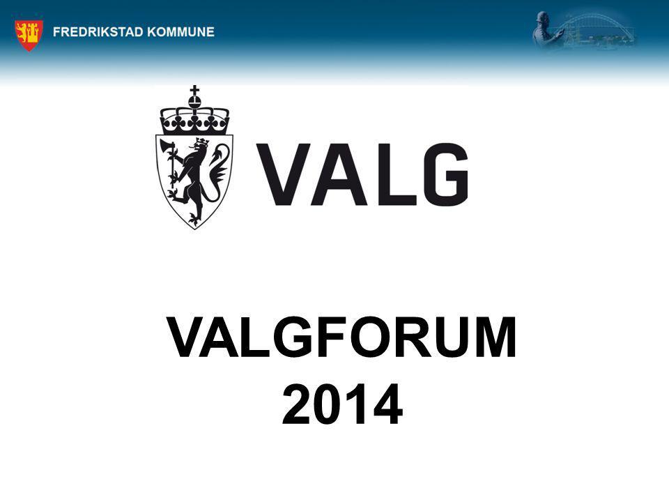 VALGFORUM 2014