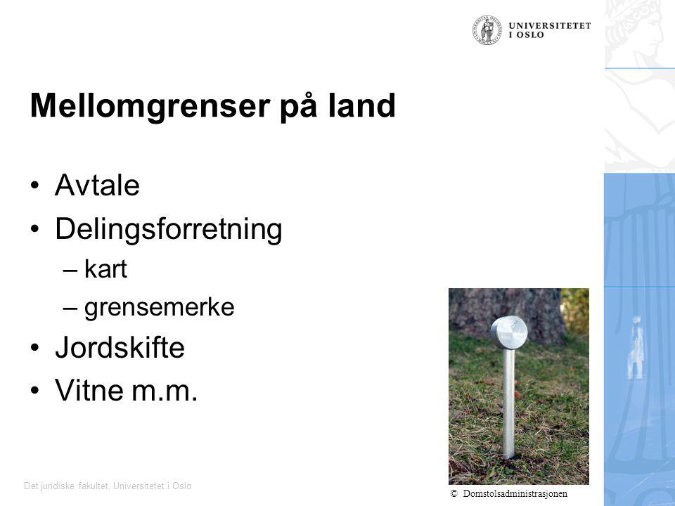 Det juridiske fakultet, Universitetet i Oslo Konfliktar i strandsona Døme: Flytebryggjer, Rt.