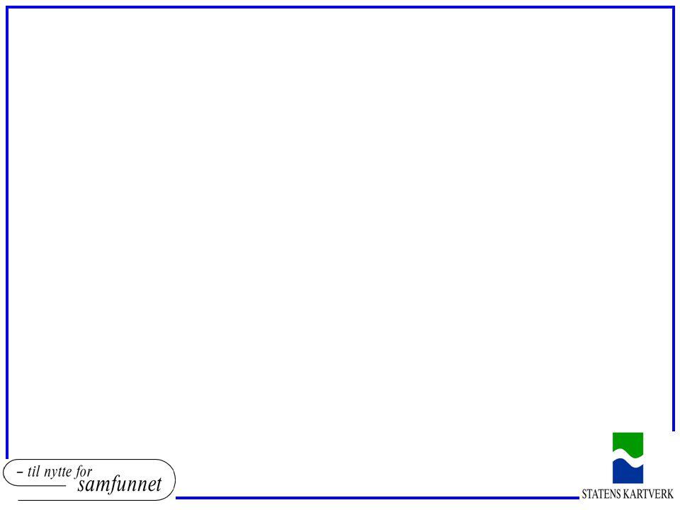 ENGELSK SOSI o Oppdrag finansiert direkte av Miljøverndepartementet med kr 450 000 samt kr 80 000 fra Standardiseringssekretariatet i SK o Prosjektet er planlagt ferdig våren 2008 o Resultat: o Objekttypedefinisjoner, Objekttypeegenskaper, gruppeelementsammensetning,objekttyperoller, kodelister, typer – med definisjoner oversatt (typer oversettes pga UML) wordtabeller o SOSI-db og UML-modellene blir oversatt (xls - > SOSI-db - > UML) o Sendes fagmiljøene for kvalitetskontroll o Følger (stort sett) INSPIREs framdrift o Eksternt oversettelsesfirma o Statens kartverk: Gerd Mardal (prosjektleder), Geir Myrind og Kent Jonsrud