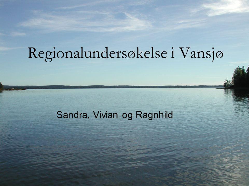 Regionalundersøkelse i Vansjø Sandra, Vivian og Ragnhild